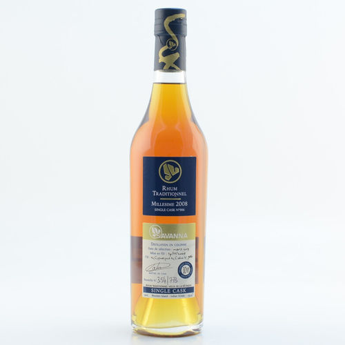 Rhum - Savanna Traditionnel 9 ans - Single Cask 2009